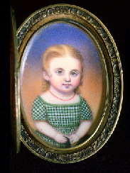Miniature portrait of Emma P. Pickering, Moses B. Russell (1809-1884)