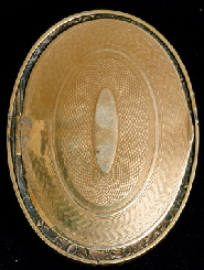 Miniature portrait of Emma P. Pickering, Moses B. Russell (1809-1884) back of locket